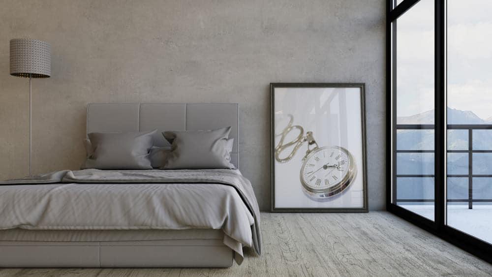 une chambre ordonnée pour s'endormir