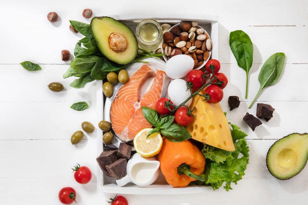 Repas équilibré pour mieux digérer