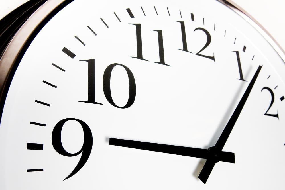 respecter les horaires pour digérer