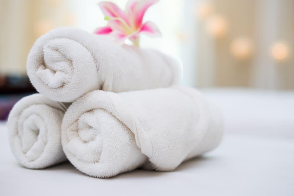serviettes en coton