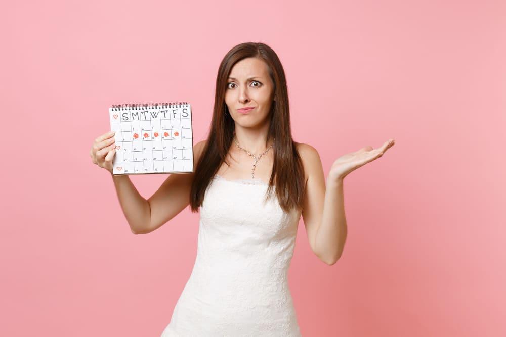 les menstruations chez la femme
